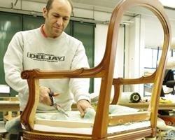 Armchair production