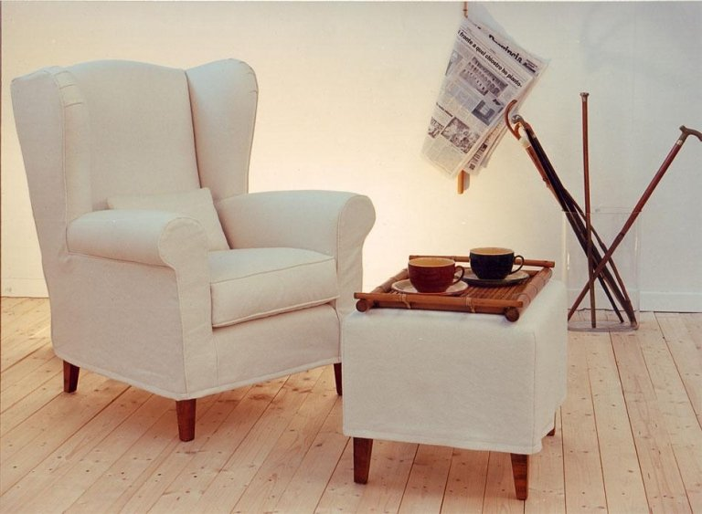 Removable lining armchair model Provenza
