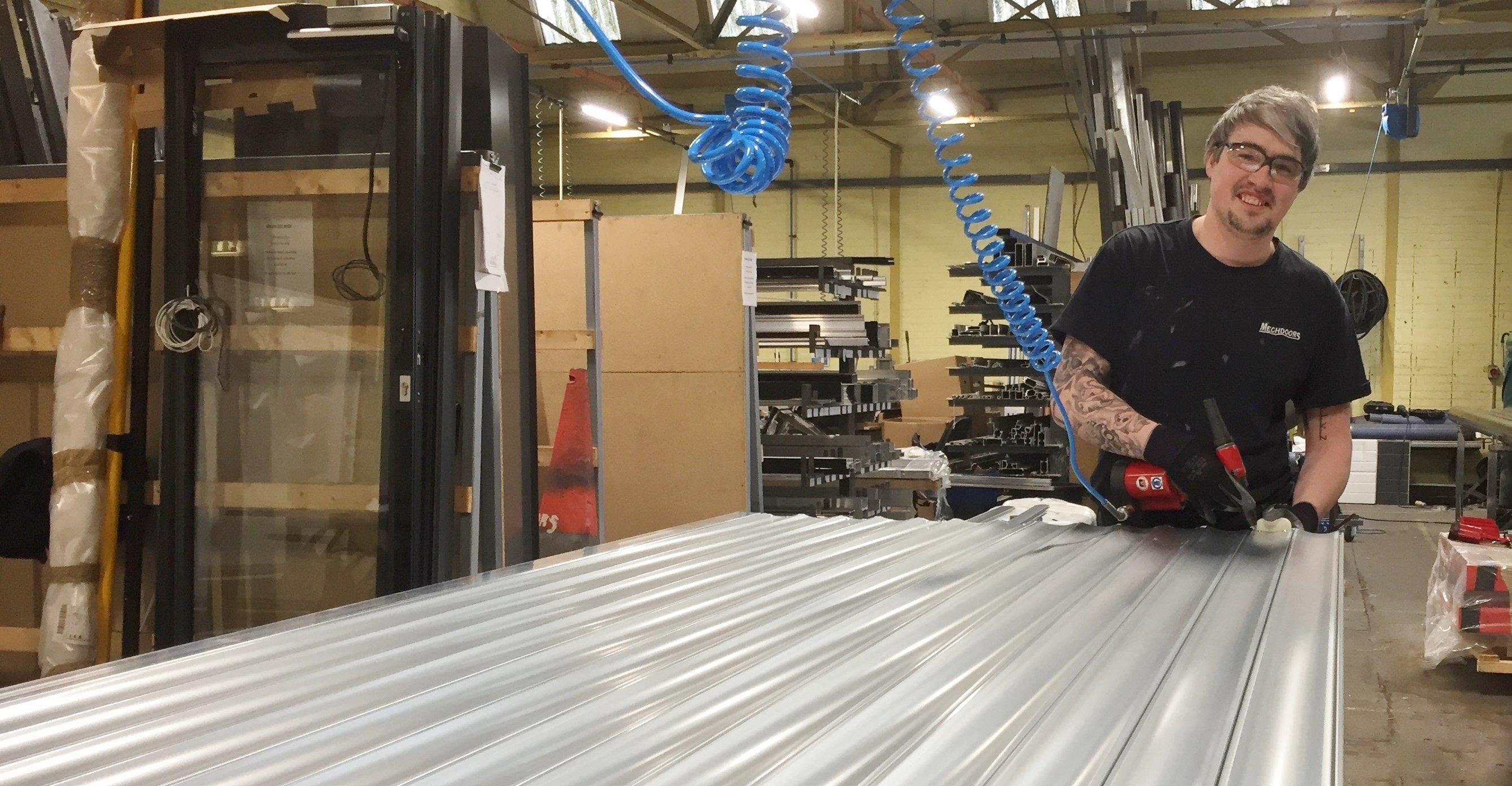 Mechdoors Industrial Door Amp Roller Shutter Repairs In