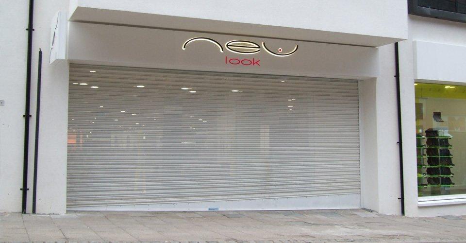 a store entrance