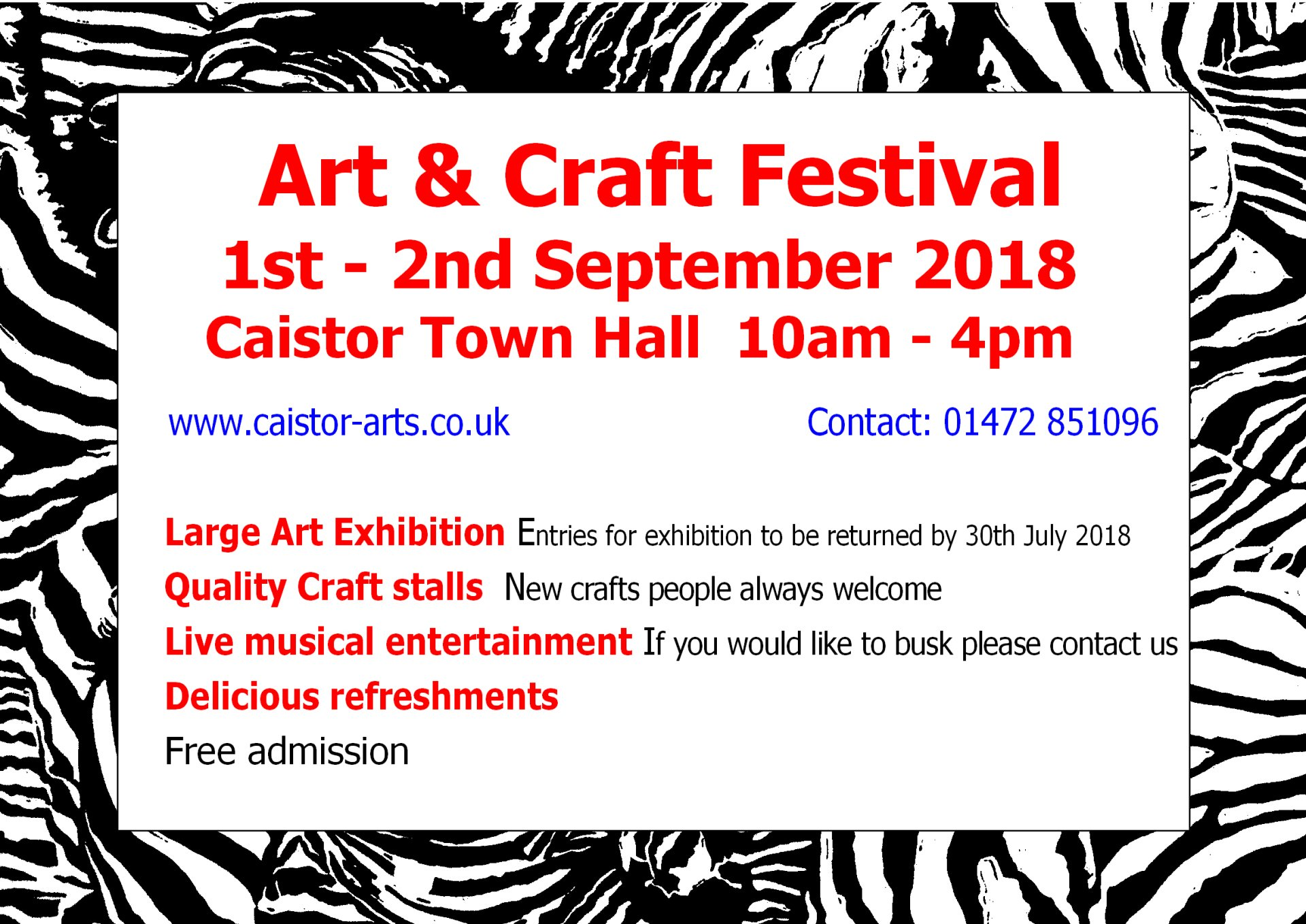 Caistor Arts And Craft Festival
