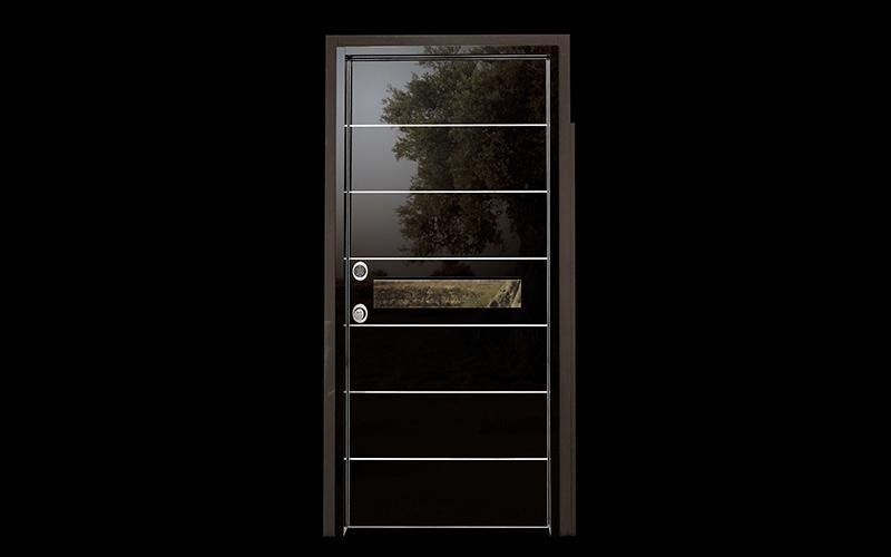 Super HT amoured door  - black