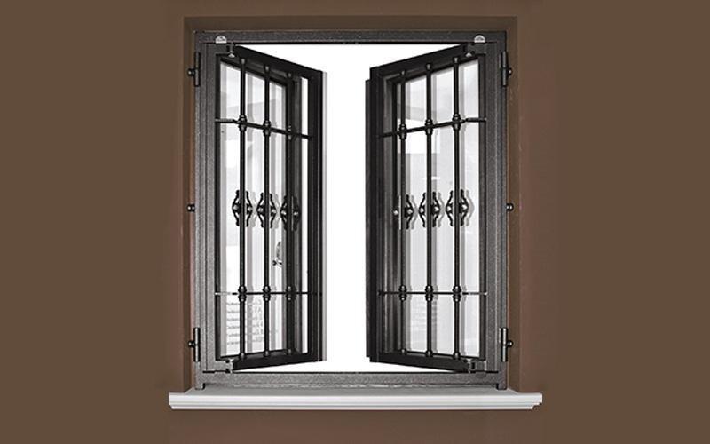 Grate di sicurezza como s l sabatino - Grate per finestre villa ...