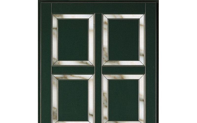 serie verde con marmo