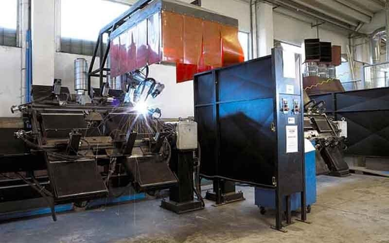 armoured door manufacturing machinery