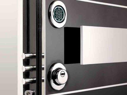 anti-burglary armoured doors