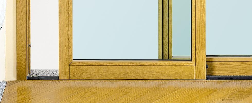 Finestra termoacustica blindata Alzante Scorrevole Sabatino