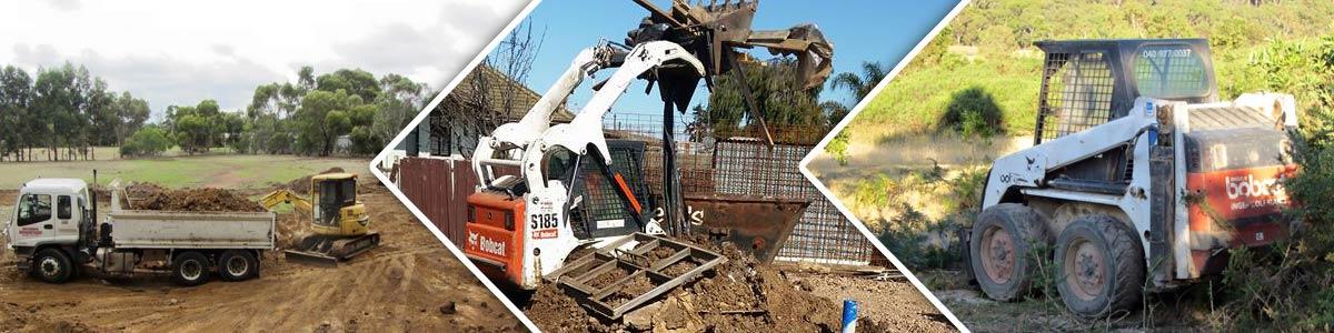 don barrys bobcat hire excavators and trucks
