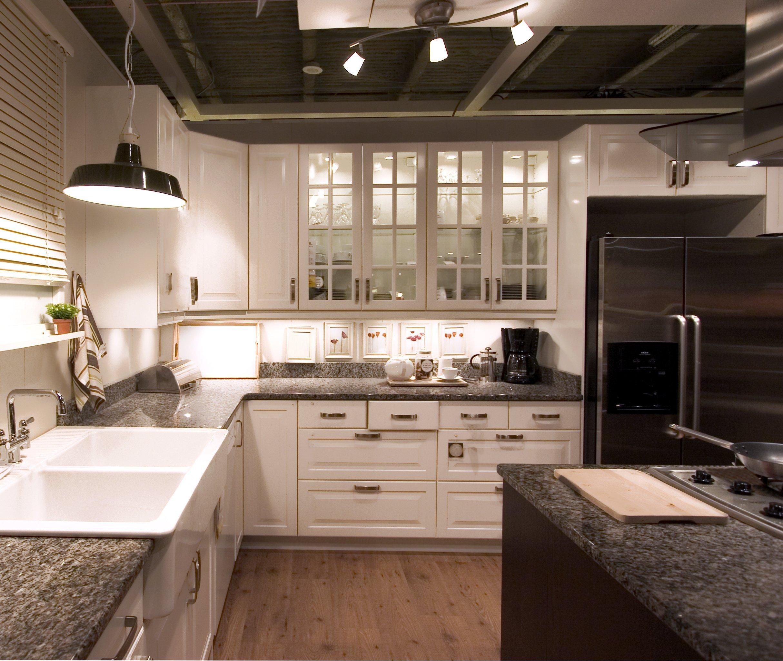 Beautiful Dark Kitchen Countertops