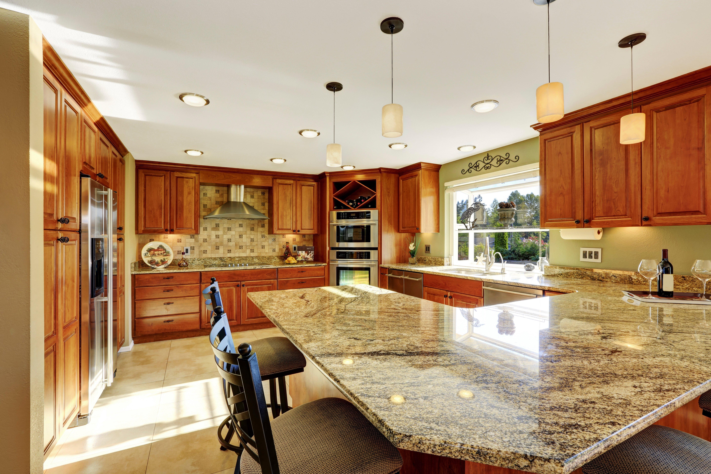 U-Shaped Kitchen Countertops