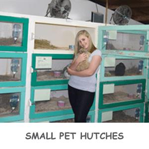 small pet hutches