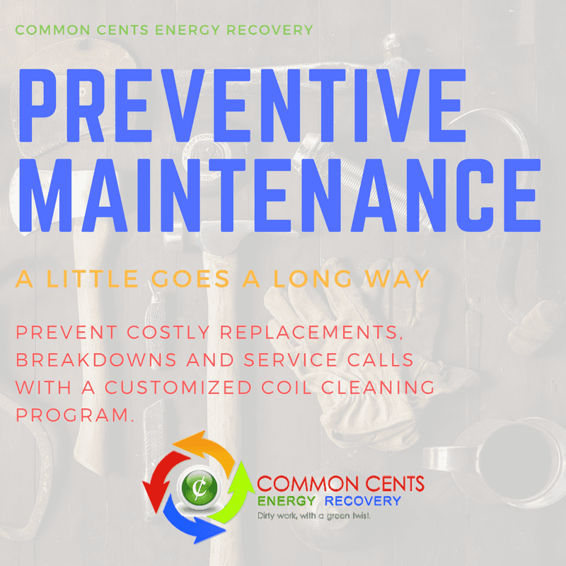 Its preventive maintenance time fewer service calls breakdowns fewer service calls breakdowns and equipment replacements with an hvac coil cleaning program sciox Images