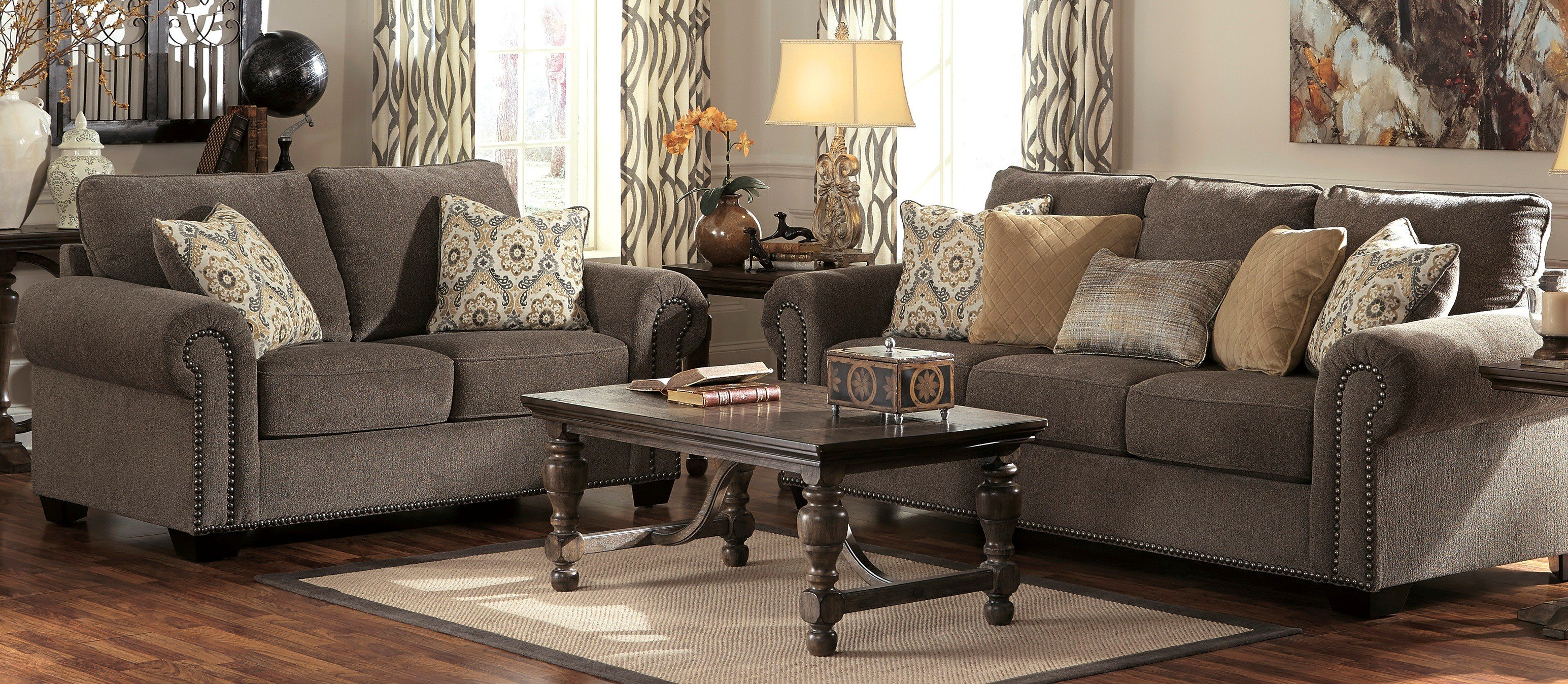 Living Room Sets Ashley living rooms | anderson's warehouse furniture | pittsburg, herrin, il