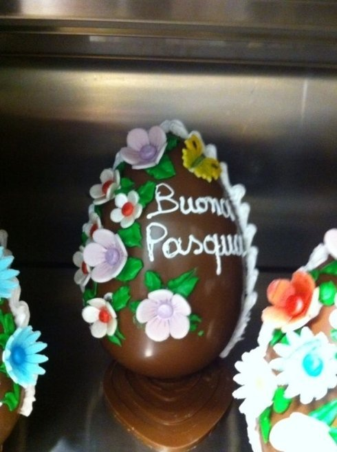 Uova cioccolata pasqua