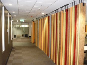 Commercial office partition