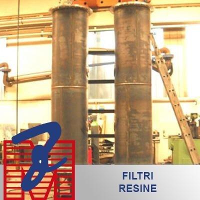 filtro resine