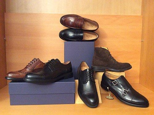 scarpe in pelle fatte a mano