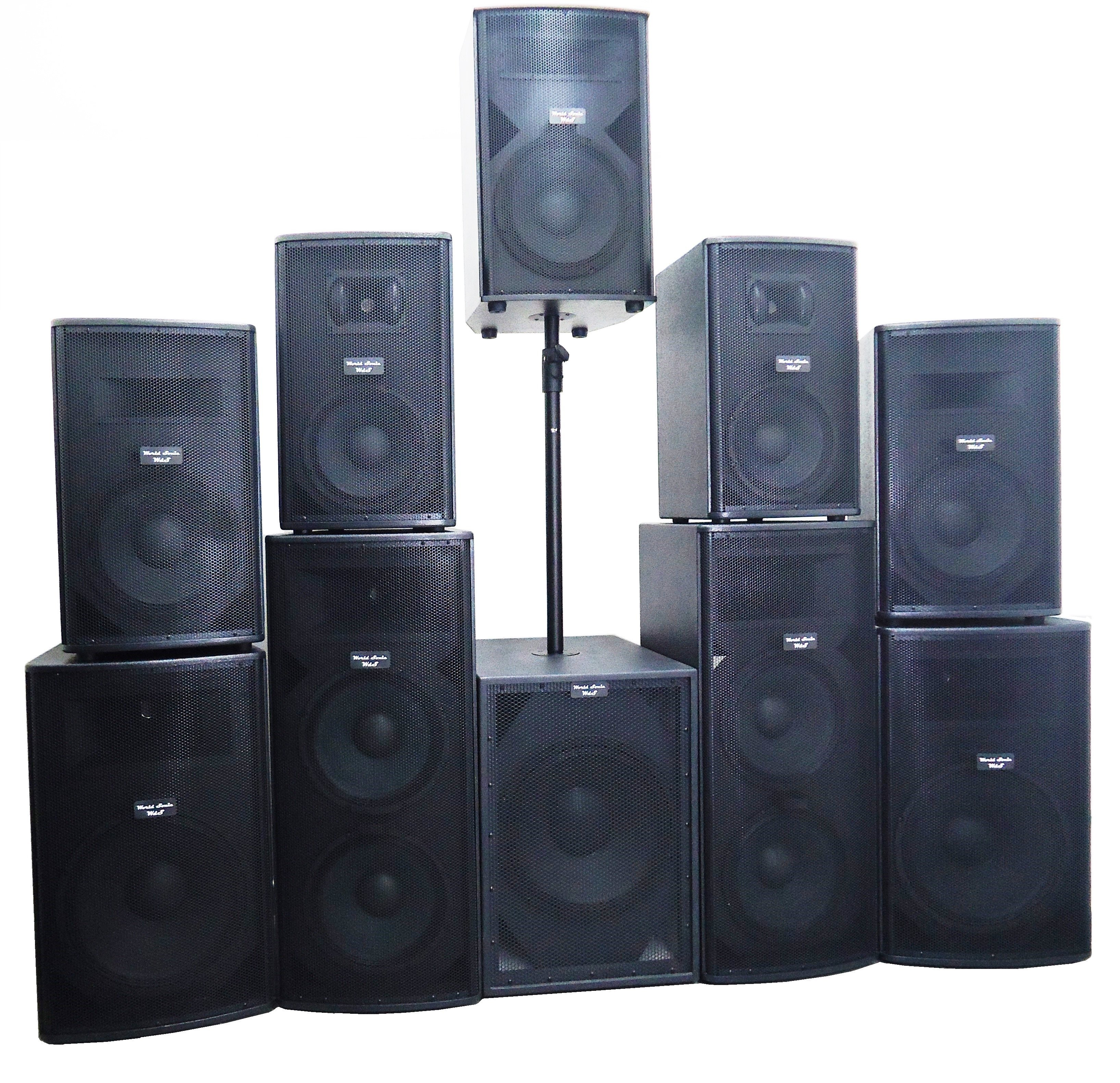 Vendita diffusori acustici
