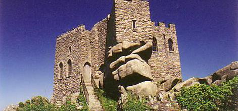 Old Cornish ruin