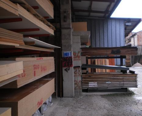 fornitura legname