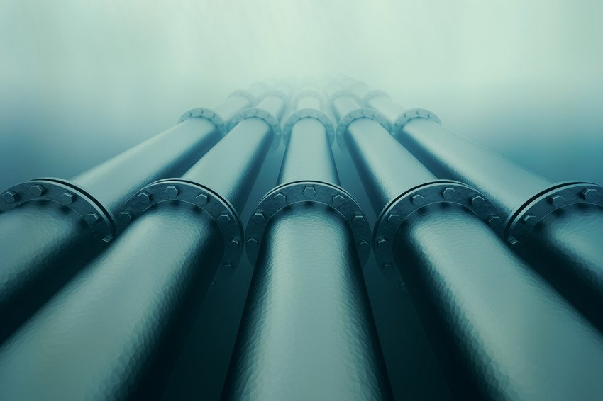 closer view of the pipes
