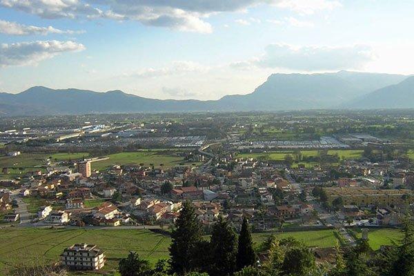 Vista di Piedimonte San Germano