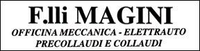 logo autofficina f.lli magini