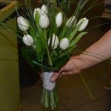 tulipani bianchi, mazzi di tulipani