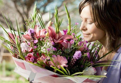 mazzi di fiori, bouquet di fiori, composizione floreale