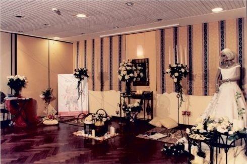 addobbi per cerimonie, corone di fiori