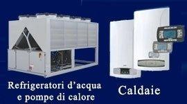 vendtia caldaie pompe calore, refrigeratori d'acqua