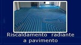 impianti riscaldamento pavimento, riscaldamento radiante