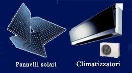 impianti solari condizionatori