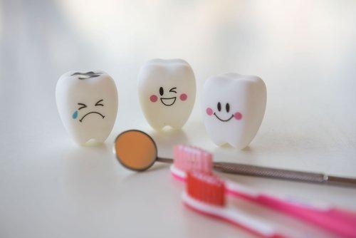 dentini per educazione alla prevenzione dei più piccoli