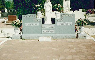 Grave Monument Laredo, TX