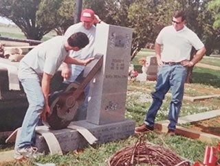 Cemetery Stone Laredo, TX