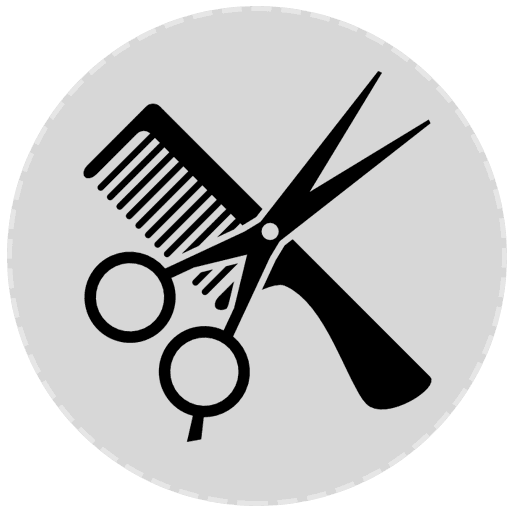 icona forbice e pettine