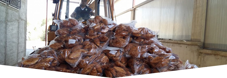 Spostamento dei prodotti a Raffadali