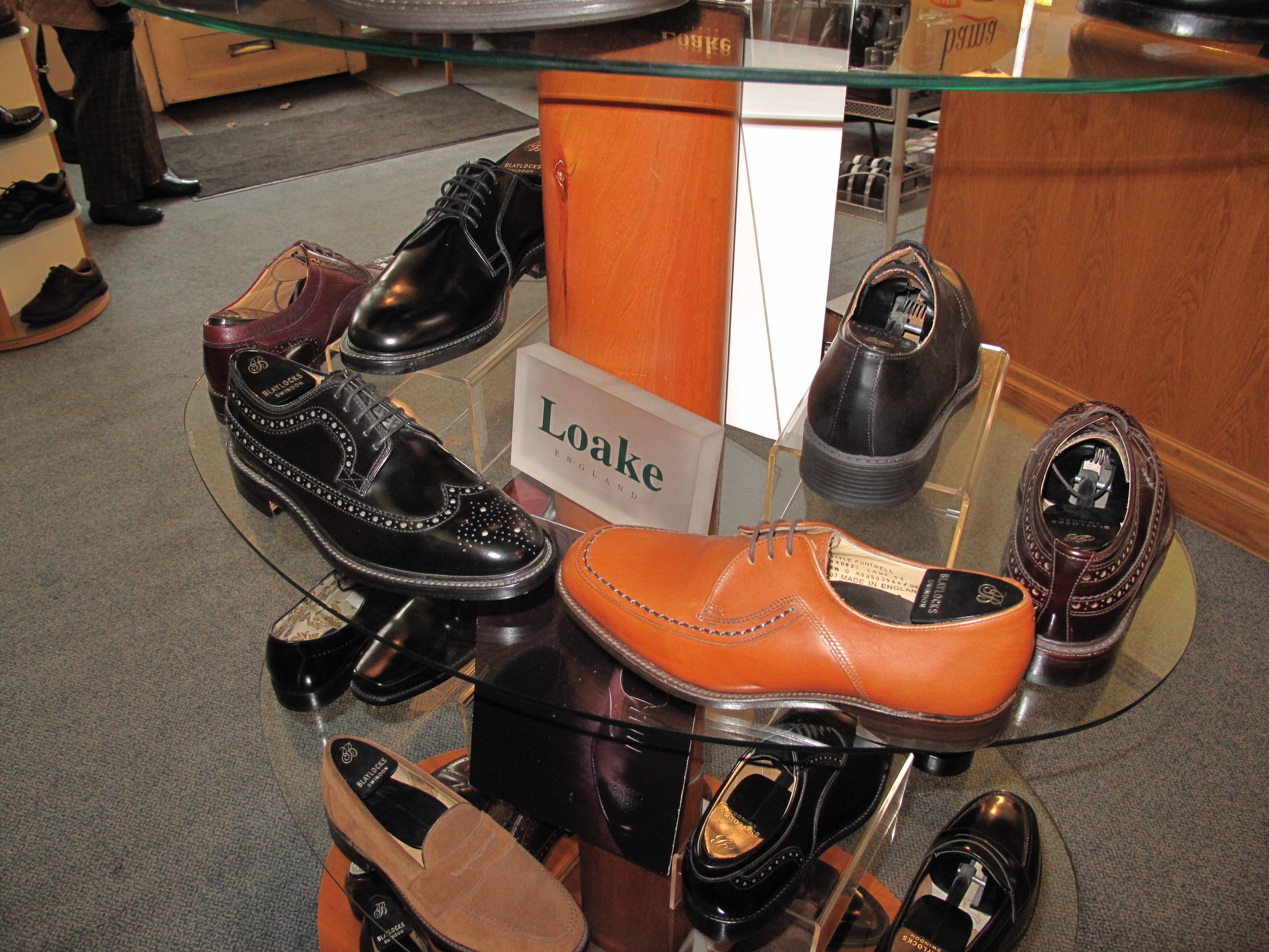 wide range of shoes for men