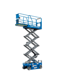 Model GS-1932 6M scissor lifts hire with non-marking tyres in Gold Coast and Ballina