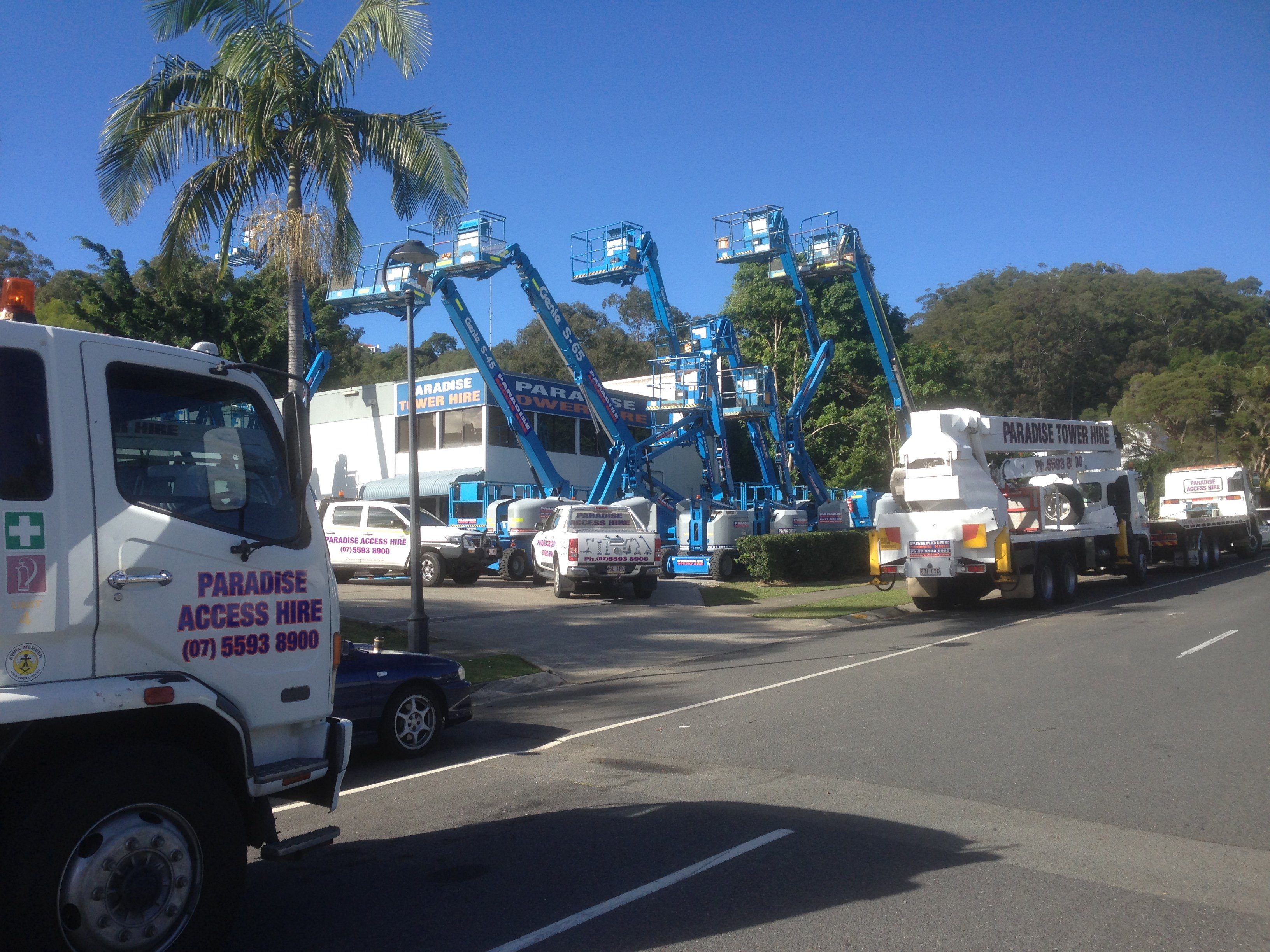 Fast easy and one call away scissor lift hire in Gold Coast including Ballina area