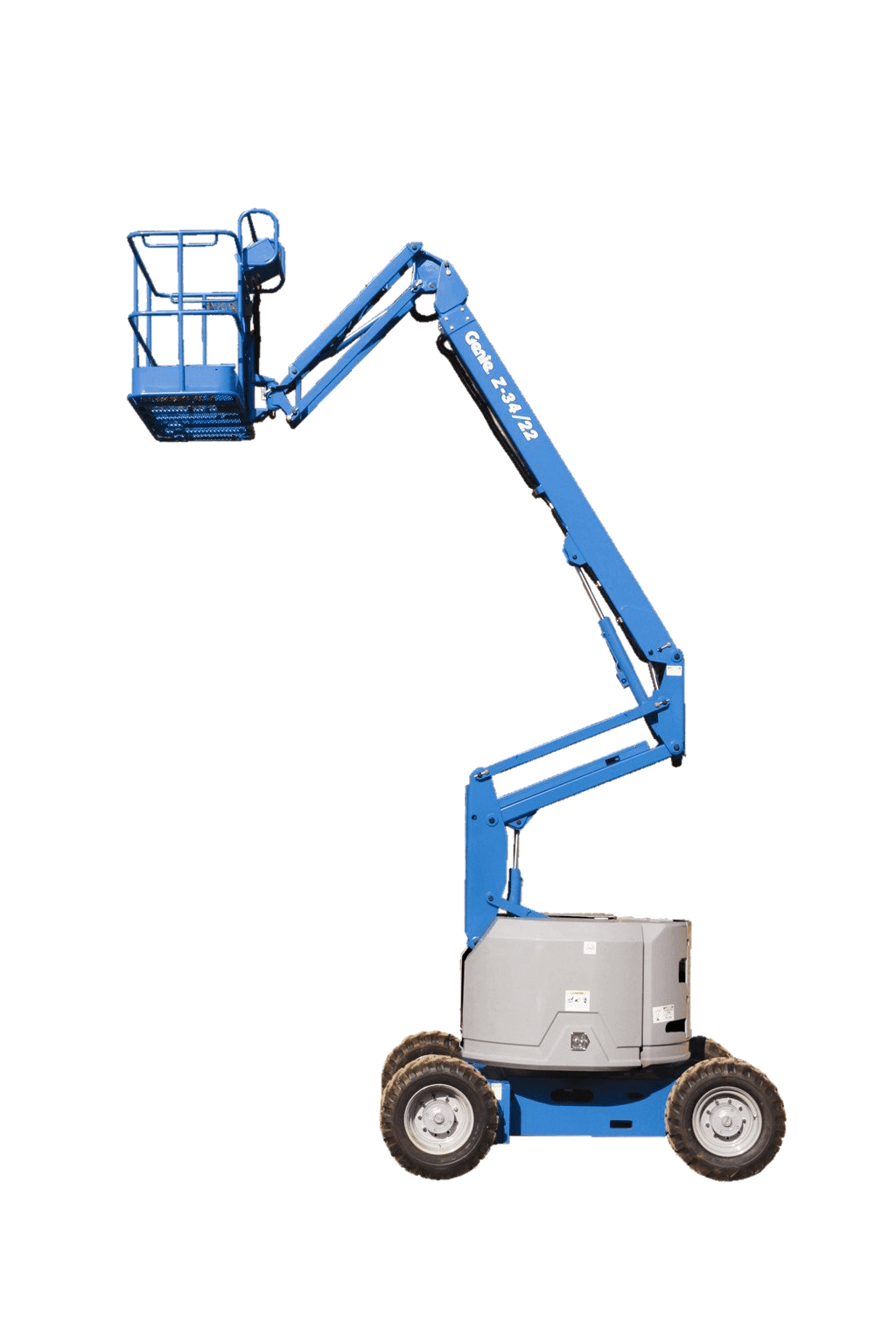 Z-34/22 ic - 10m knuckle boom lift for hire in Gold Coast, Ballina and beyond