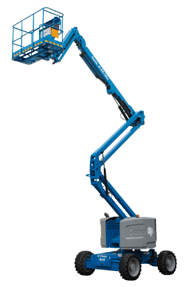 Z-45/25j rt - 14m knuckle boom lift hire equipment for Gold Coast and Ballina area