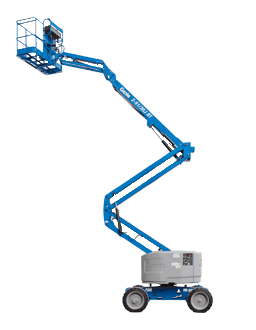 Hassle free z-51/30j rt - 15m knuckle boom lift for hire in Gold Coast area