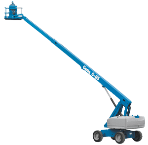 Well-kept s-65 - 19m stick boom lift for hire in Gold Coast, Ballina and more