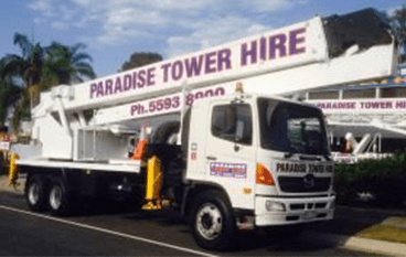 One call away white cherry pickers hire in Gold Coast, Ballina and more