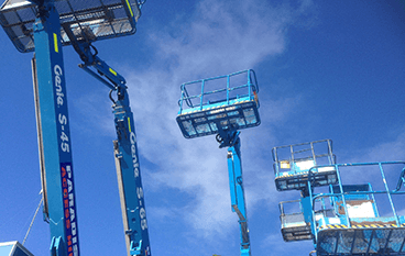 High-quality fleet scissor lifts for hire servicing Gold Coast and Ballina areas