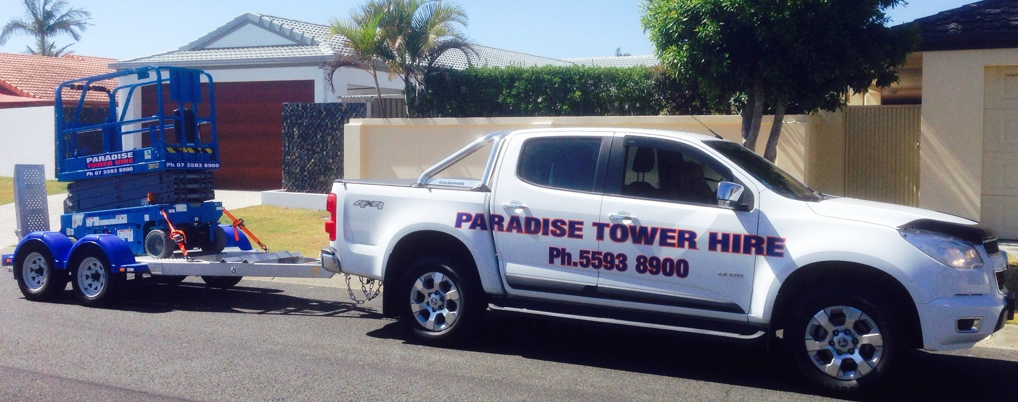 Experts and high quality scissor lifts and cherry picker hire prodivers in Gold Coast