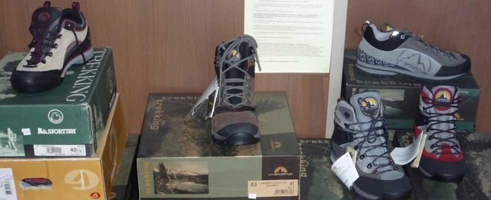 calzature per trakking