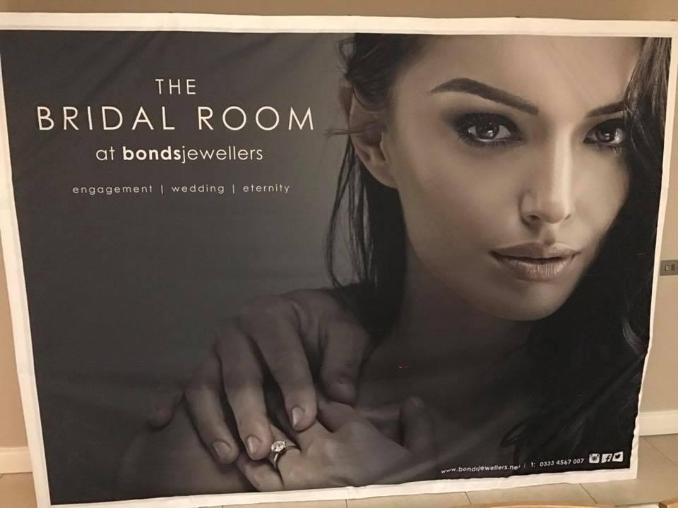 Bridal Room Printed Advert